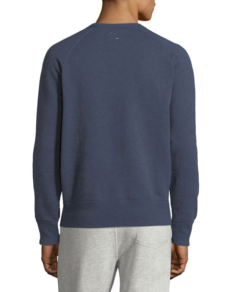 Men's Heathered Long-Sleeve Sweatshirt