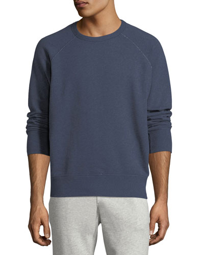 Heathered Long-Sleeve Sweatshirt