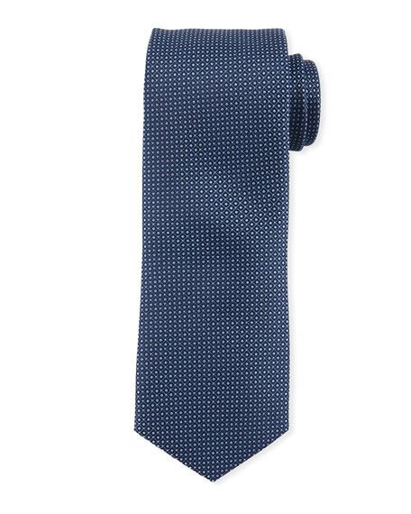 Micro-Birdseye Silk Tie