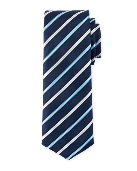 BOSS Striped Silk Tie