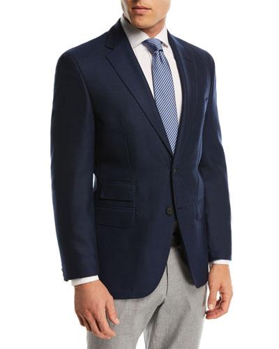 Solid Micro Wool Travel Jacket