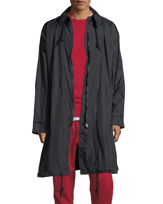 de206ef24 Packable Zip-Front Nylon Coat