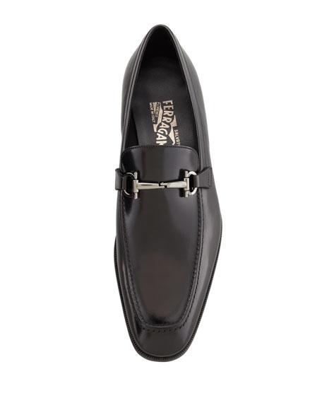 Gancini-Bit Loafer Black