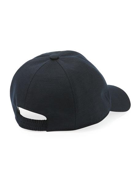 Embossed-Logo Baseball Cap