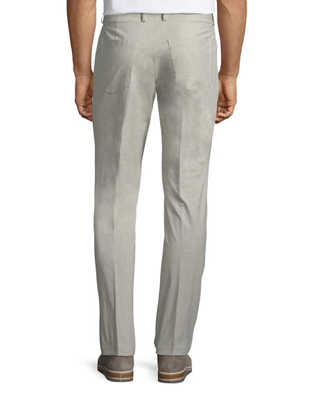 Gaetano 5-Pocket Straight-Leg Trousers