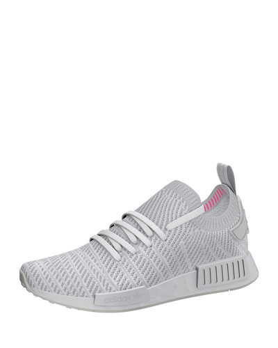 Men's NMD_R1 Primeknit Trainer Sneaker, White