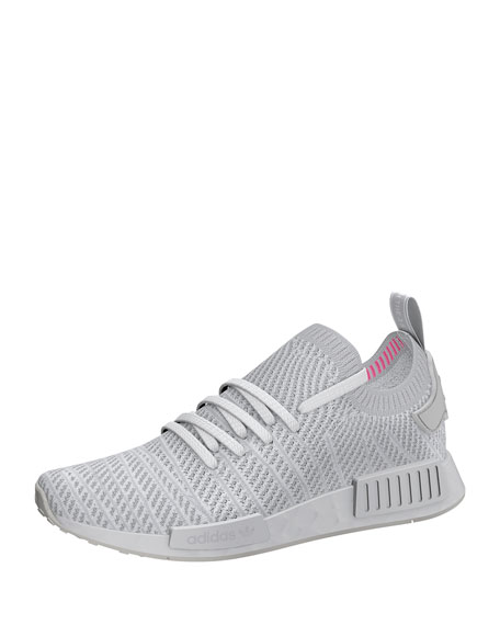 Adidas Men's NMD_R1 Primeknit Trainer Sneakers, White