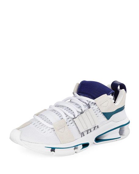 Adidas Twinstrike ADV Colorblock Running Sneaker, White