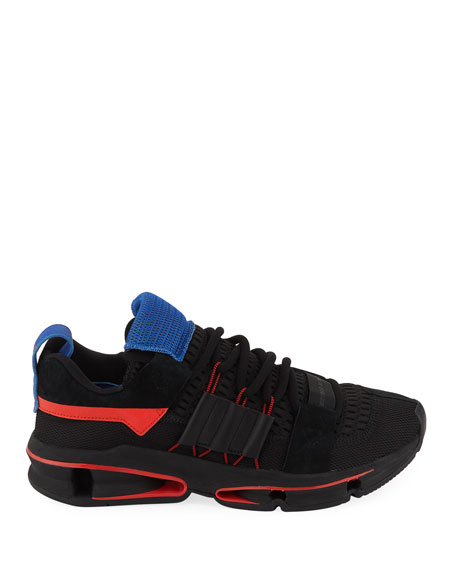 Men's Twinstrike ADV Colorblock Running Sneakers, Black