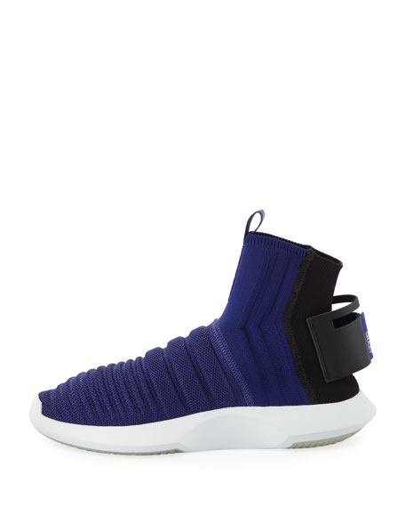 Men's Crazy 1 ADV High-Top Sock Sneakers