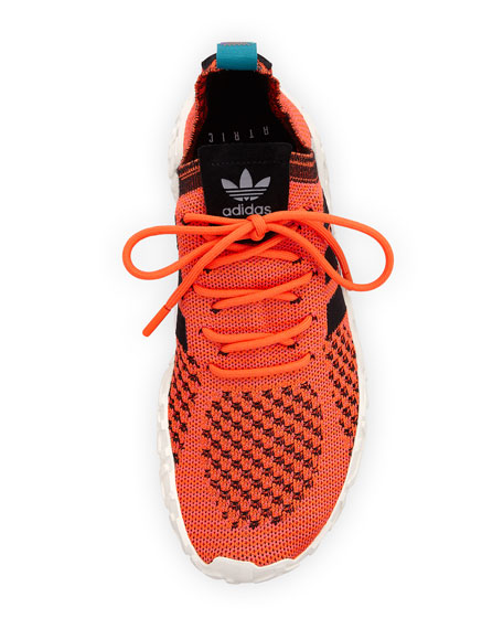 Men's F22 PK Stretch-Knit Sneakers, Orange