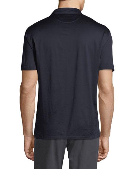 Men's Mercerized Cotton Jersey Polo Shirt