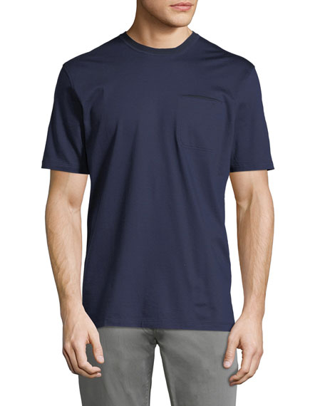 Ermenegildo Zegna Cotton Pocket T-Shirt