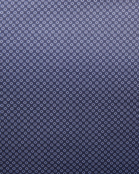 Micro-Print Woven Sport Shirt