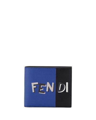 Vocabulary Leather Bi-Fold Wallet