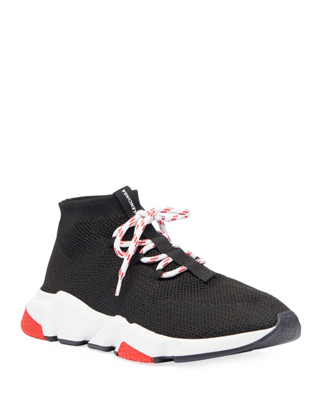 Balenciaga Men's Speed Lace-Up Mesh Sneaker and Matching