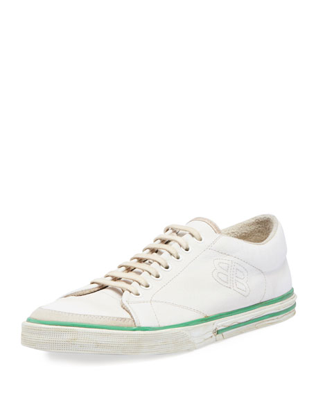 Mens Match Canvas Sneakers Balenciaga oqysdv