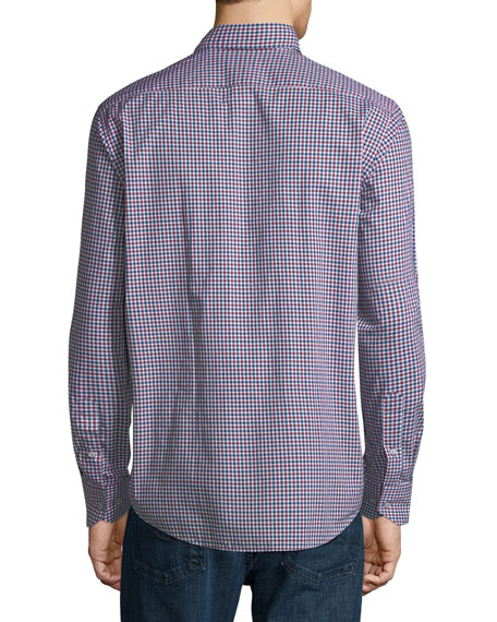 Small Gingham Sport Shirt