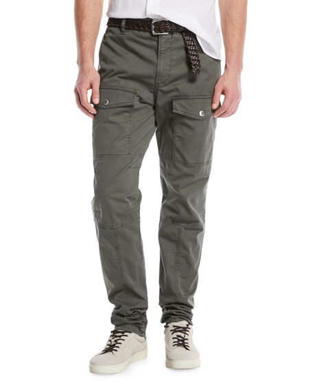 Brunello Cucinelli Leisure-Fit Parachute Cargo Pants