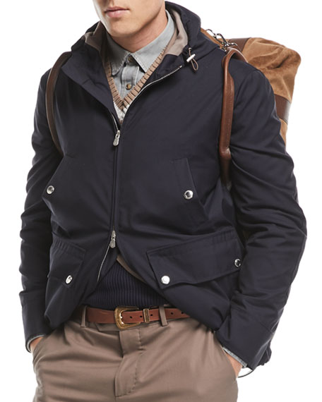 Technical Wool Utility Jacket