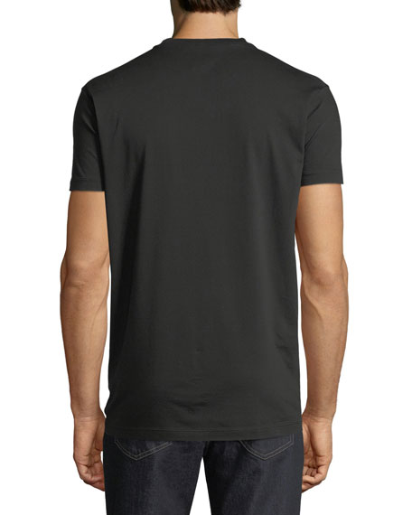 Cracked Logo Graphic Jersey T-Shirt