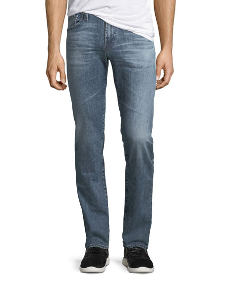 AG Adriano Goldschmied Matchbox Stretch-Denim Jeans
