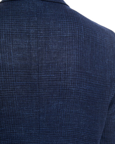 Heathered Wool/Linen Sport Jacket