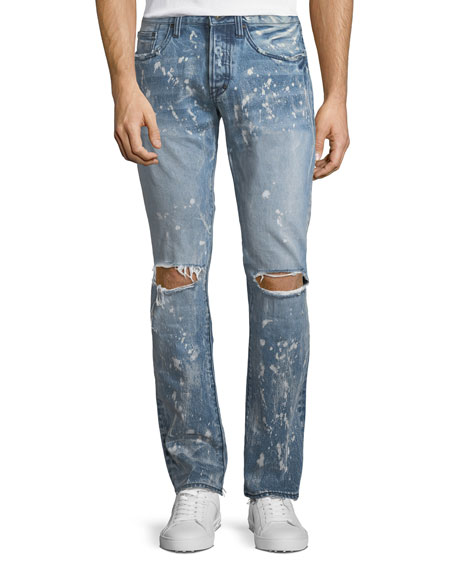 PRPS Demon Distressed Slim-Straight Jeans