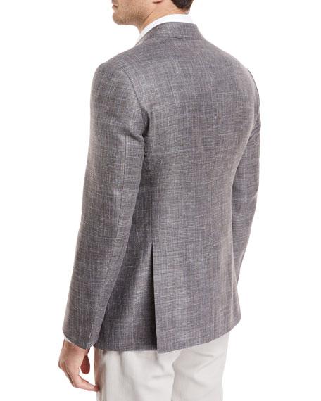 Melange Wool-Blend Sport Coat