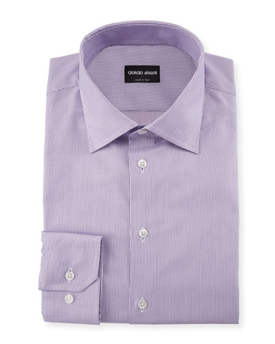 Micro-Structure Dress Shirt