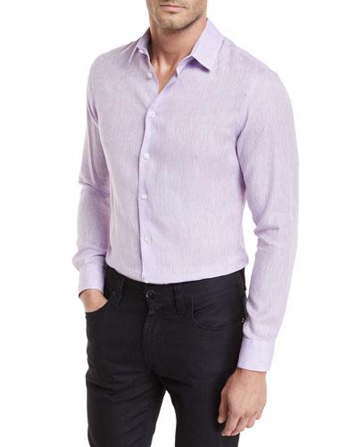 Linen Melangé Sport Shirt
