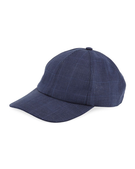 Solid Wool-Blend Baseball Cap