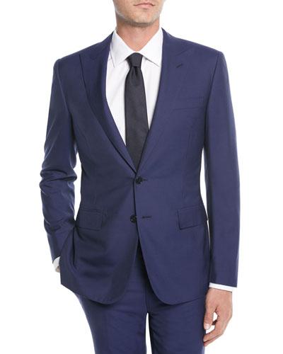 Men's Lux Plainweave Two-Piece Suit