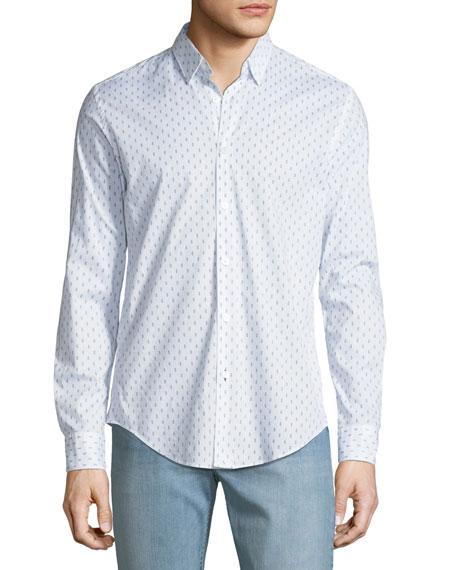 BOSS Men's Sailor Knot-Print Sport Shirt