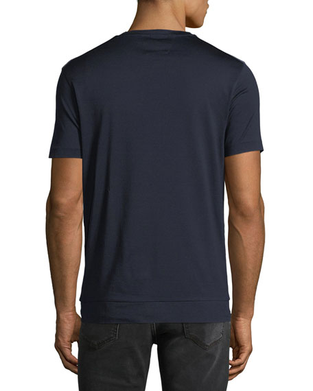 Men's Honeycomb Cotton T-Shirt