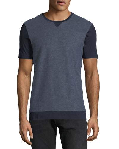 Men's Honeycomb Cotton T-Shirt