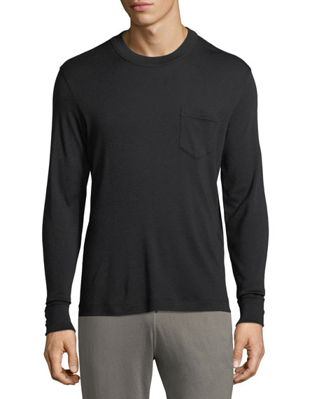 TOM FORD Double Cashmere Long-Sleeve Shirt
