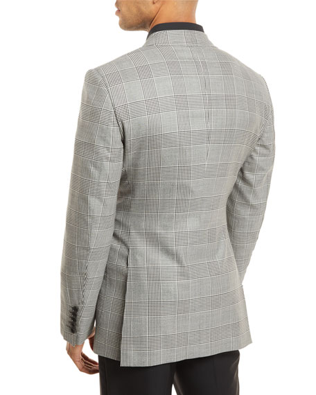 Prince of Wales Plaid Sport Jacket