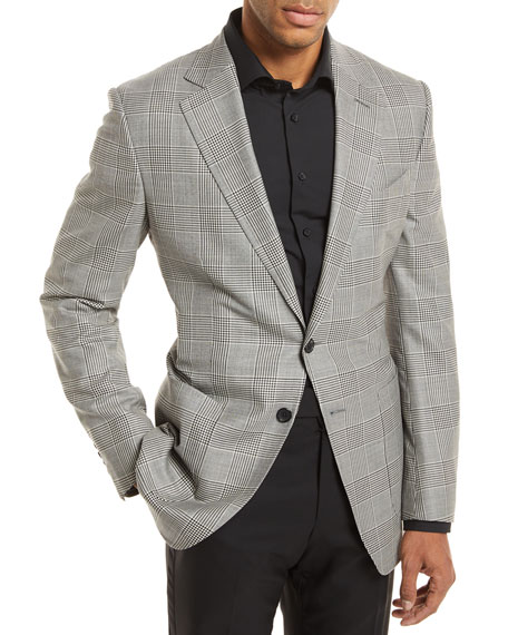 TOM FORD Prince of Wales Plaid Sport Jacket