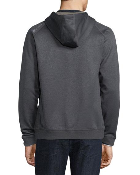 Placid Jersey-Face Fleece Hoodie