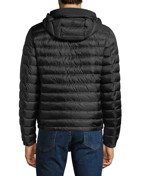 Men's Morvan Zip-Front Puffer Jacket