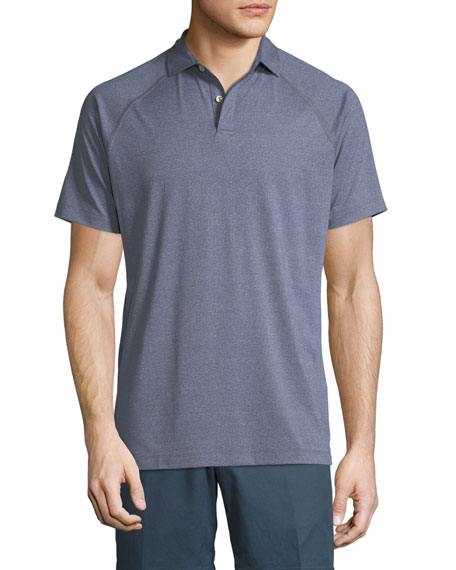 Peter Millar Amsterdam Technical Polo Shirt, Slate