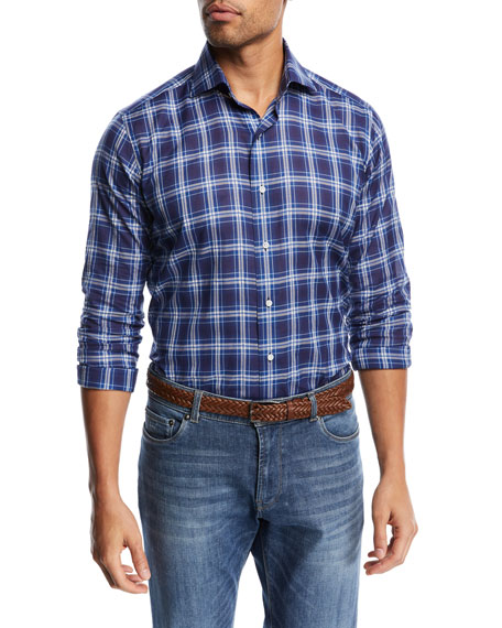 Paradise Plaid Sport Shirt