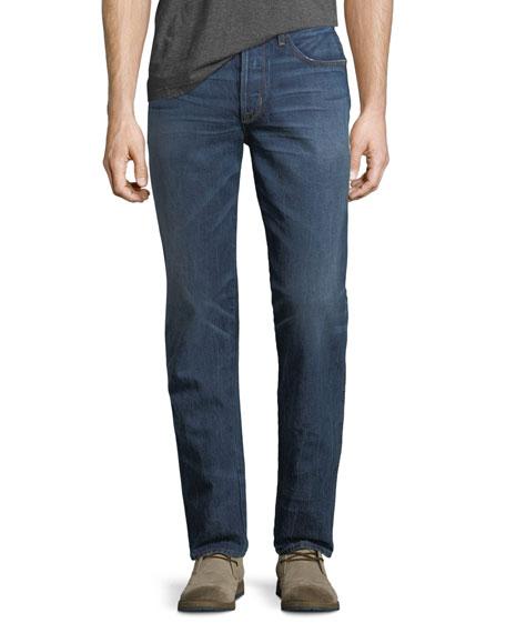 Hudson Dixon Easy Straight Jeans, Trigger