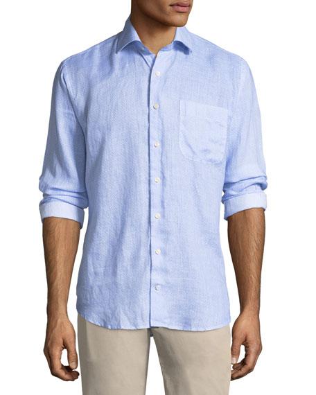 Whirlwind Woven Linen Shirt