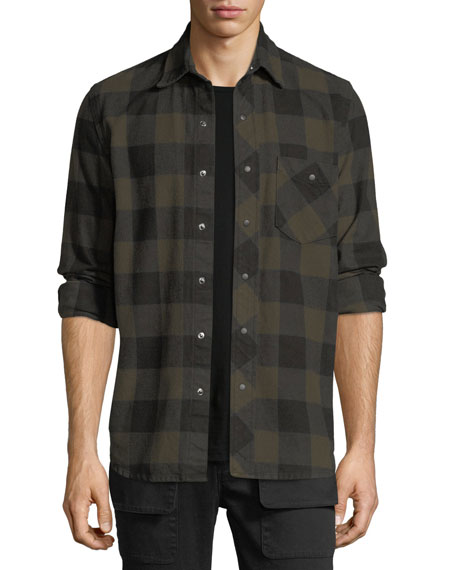 Hudson Men's Weston Plaid Shirt