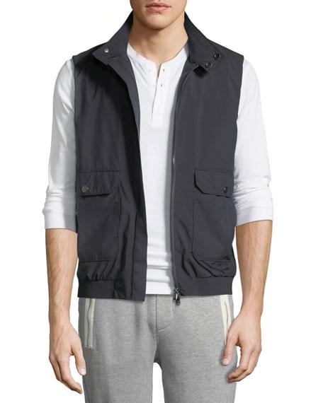Moncler Men's Simple Vest w/ Pockets