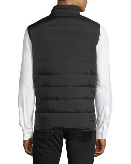 Matte Merak Vest w/ Shiny Lining, Black