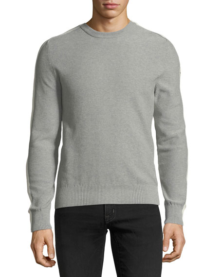 Men's Heathered Cotton Sweater