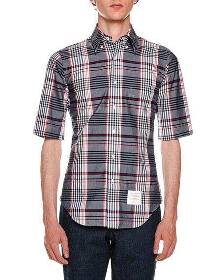 Classic Madras Check Poplin Shirt